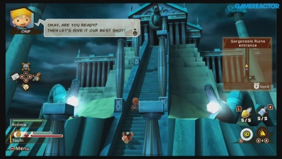 Snack World: The Dungeon Crawl - Gorgonzola Ruins Gameplay (Part I)