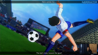 GRTV spelar Captain Tsubasa: Rise of New Champions