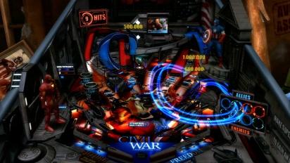 Marvel Pinball: Civil War - Trailer