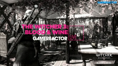 The Witcher 3: Blood and Wine - Livestream-repris