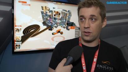 GRTV intervjuar teamet bakom The Endless Mission