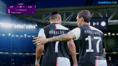 eFootball PES 2020 - Juventus mot Ajax Gameplay