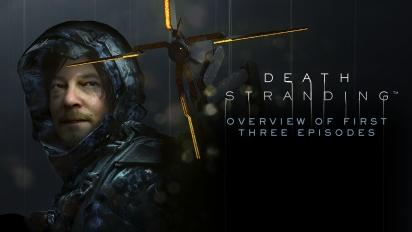 GRTV spelar Death Stranding: Första tre uppdragen