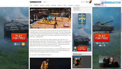 GRTV News: Annonser tillagda i NBA 2K21