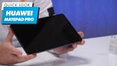GRTV packar upp Huawei Matepad Pro