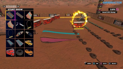 GRTV har byggt en egen bana i Dirt 5: Playgrounds