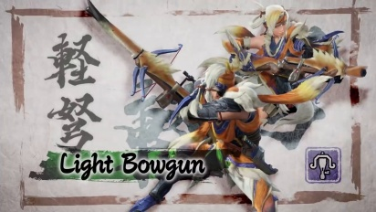 Monster Hunter Rise - Light Bowgun