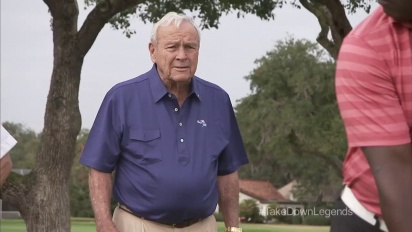 Tiger Woods PGA Tour 14 - Arnold Palmer is Not Imprwssed With Marshall Faulk Trailer