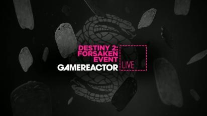 GRTV spelar mer av Destiny 2: Forsaken Event