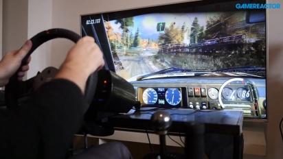 GRTV rattar Dirt Rally 2.0 med en Fanatec CSL-ratt