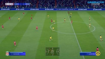 GRTV spelar FIFA 20 (Liverpool vs Dortmund)