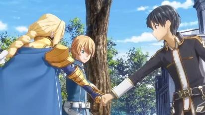 Sword Art Online: Alicization Lycoris - Customization & Exploration Trailer