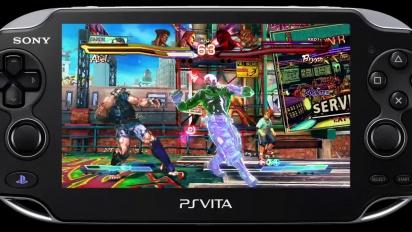 Street Fighter X Tekken - PS Vita Tekken Characters Gameplay