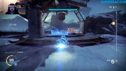 GR UK lirar lite Destiny: Sparrow Racing