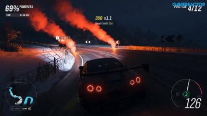 GRTV kör ett vinterrace i Forza Horizon 4
