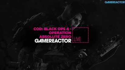 GRTV spelar Call of Duty: Black Ops 4 - Operation Absolute Zero