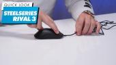 GRTV packar upp Steelseries Rival 3