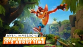 GRTV tycker till om Crash Bandicoot: It's About Time
