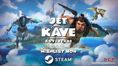 Jet Kave Adventure - Steam Reveal Trailer
