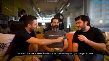 GRTV hälsar på hemma hos Ironhide Game Studio