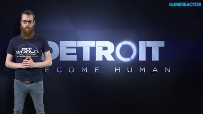 GRTV kikar på Detroit: Become Human (Kara)