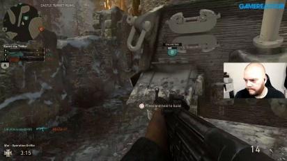 GR Live Sverige Repris - Vi spelar War i Call of Duty: WWII