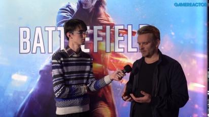 GRTV intervjuar Dice om Battlefield V