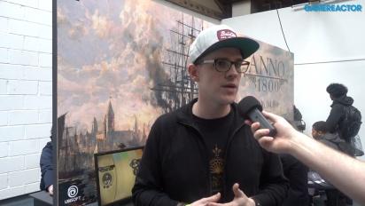GRTV intervjuar teamet bakom Anno 1800