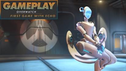 GRTV testar nya figuren Echo i Overwatch