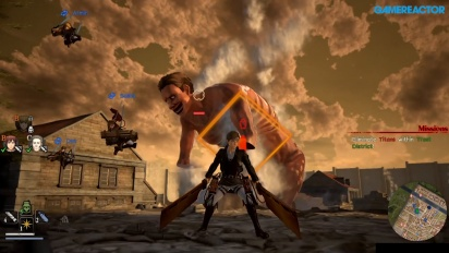 GRTV videorecenserar Attack on Titan 2