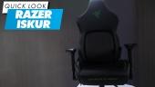 GRTV packar upp nya Razer Iskur