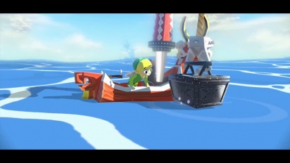 The Legend Of Zelda The Wind Waker HD - E3 Trailer