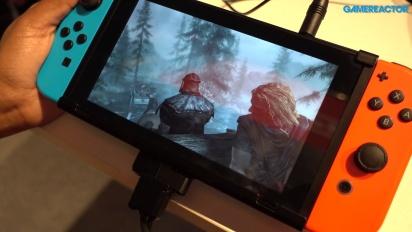 Vi klämmer på The Elder Scrolls V: Skyrim till Switch
