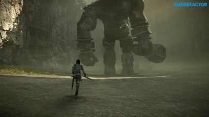 Shadow of the Colossus Remake - Första kolossen