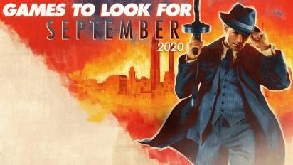 GRTV-listar septemberspelen du bör hålla utkik efter