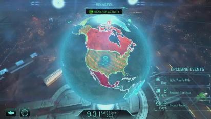 Xcom: Enemy Unknown - PC Interface Reveal PAX Playthrough