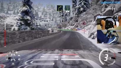 GRTV klämmer på Monte Carlo-rallyt i WRC 9