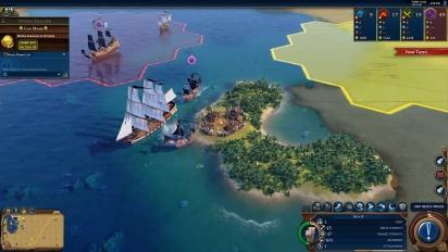 Civilization VI - Pirates Multiplayer Scenario (First Look)