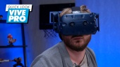GRTV kikar närmare på VR-hjälmen HTC Vive Pro