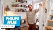 GRTV installerar en hög med Philips Hue