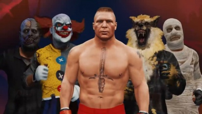 UFC 4 - Brock Lesnar Reveal Trailer
