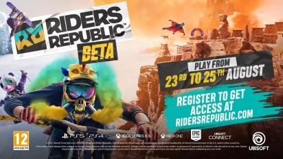 Riders Republic - Beta Anncouncement Trailer