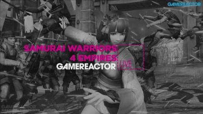Vi lirar Samurai Warriors 4: Empires