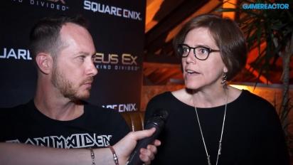 Deus Ex: Mankind Divided - Franchise and narrative director-intervju