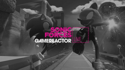 GRTV spelar lite Sonic Forces (och mår lite illa)