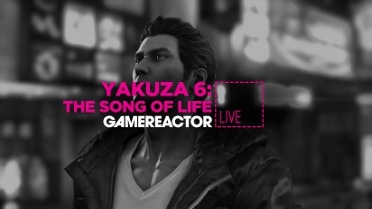 GRTV lirar Yakuza 6: The Song of Life