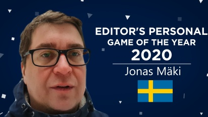 Gamereactor Editor Personal GOTY 2020 - Jonas Mäki (Sverige)