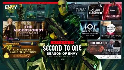 HITMAN 3 - Season of Envy Roadmap Trailer