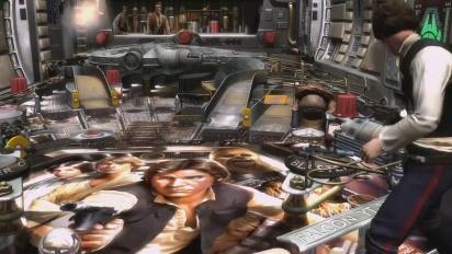 Star Wars Pinball - Han Solo Pinball Table Trailer