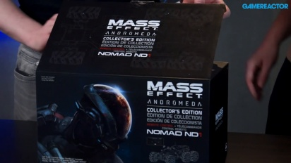 Vi packar upp Mass Effect: Andromeda Collector's Edition